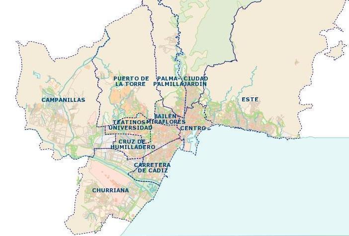 Mapa Callejero De Malaga.Por Que Usar El Callejero De Malaga